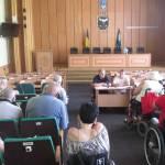 Комитет по доступности в Славянске выяснял пожелания людей с ограниченными возможностями (ВИДЕО)