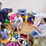 Світлина. Президент у Вінниці відвідав Центр реабілітації дітей та молоді з функціональними обмеженнями. Реабілітація, інвалідність, обмеженими можливостями, Вінниця, Президент Петро Порошенко, робоча поїздка