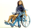 У США дизайнер створив ляльку на інвалідному візку. сша, дизайнер, лялька, інвалідний візок, інвалідність, person, clothing, transport, fashion, girl, wheel, bicycle. A woman sitting on a bicycle