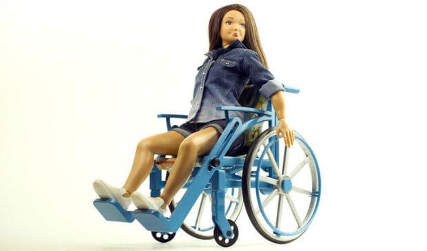 У США дизайнер створив ляльку на інвалідному візку. сша, дизайнер, лялька, інвалідний візок, інвалідність