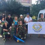 """""""Українська асоціація інвалідів АТО"""" долучилася до реабілітаційного табору «Карпатія-2017»"""