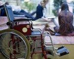 Все украинские учреждения со статусом «национального» сделают доступными для инвалидов. доступность, инвалид, инвалидность, национальное учреждение, особенными потребностями, bicycle, land vehicle, wheel, vehicle, tire, bicycle wheel, car. A person sitting on a bicycle