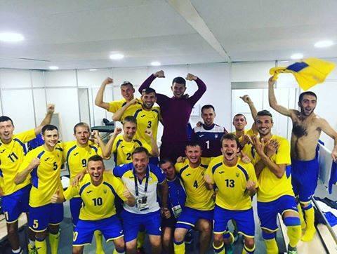 Українські футболісти стали першими на Міжнародному турнірі з паралімпійського футболу