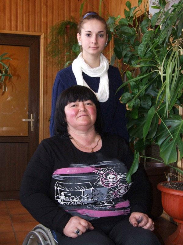 Буковинка, якій забороняли мати дітей, стала щасливою мамою. зінаїда боштега, менінгіт, обмеженими фізичними можливостями, розсіяний склероз, інвалід