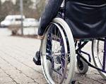 Чи пристосований Ужгород для людей з особливими потребами? (ВІДЕО). ужгород, особливими потребами, повноцінне життя, інвалід, інвалідність, ground, outdoor, bicycle, wheel, bicycle wheel, tire, land vehicle, sidewalk, vehicle, parked. A bicycle parked on a sidewalk