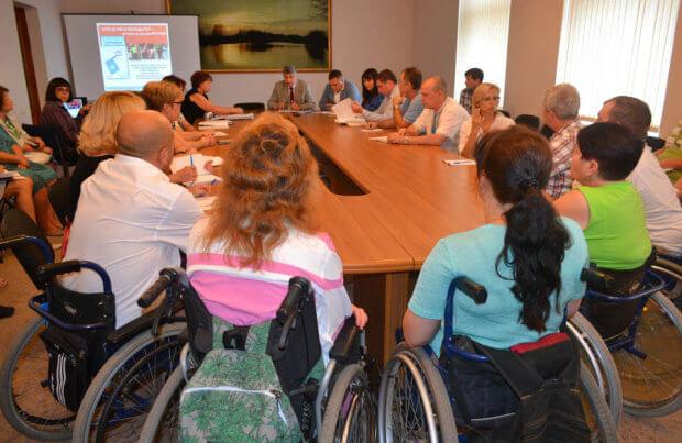 Заклади області обладнають для людей з особливими потребами. полтава, доступність, меморандум, особливими потребами, інвалід