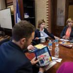 Марина Порошенко обговорила питання розвитку інклюзивного освітнього середовища з керівництвом Департаменту освіти Нью-Йорка