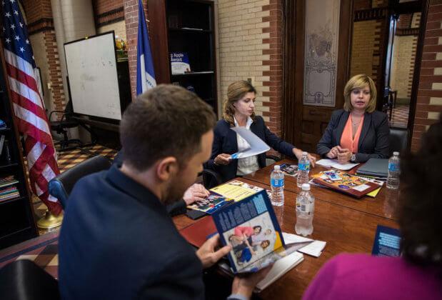 Марина Порошенко обговорила питання розвитку інклюзивного освітнього середовища з керівництвом Департаменту освіти Нью-Йорка. марина порошенко, нозологія, особливими освітніми потребами, тестування, інклюзивна освіта