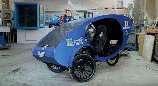 Студенти створили авто з сонячною батареєю для людей з обмеженими можливостями (ВІДЕО)