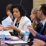 Світлина. Марина Порошенко обговорила питання розвитку інклюзивного освітнього середовища з керівництвом Департаменту освіти Нью-Йорка. Навчання, особливими освітніми потребами, інклюзивна освіта, Марина Порошенко, тестування, нозологія