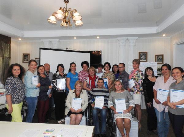 На Луганщині проведено тренінг щодо формування політики раннього втручання