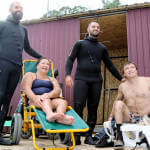 Світлина. Приключения итальянцев под «Россией»: как водолазы из Ливорно учили одесситов с инвалидностью дайвингу. Новини, инвалидность, инвалид, Одесса, дайвинг, водолаз
