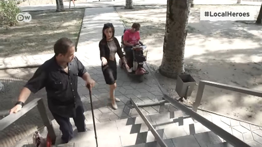 #LocalHeroes: як активістка робить Мелітополь зручним для інвалідів (ВІДЕО)
