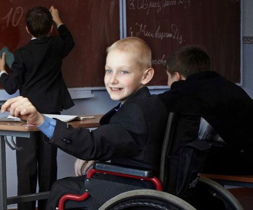 У звичайних школах запрацювали інклюзивні класи