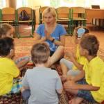Світлина. У Бучі вчили почути світ. Реабілітація, інвалід, вади слуху, Буча, реабілітаційний табір, кохлеарна імплантація