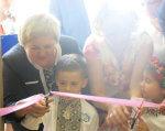 У Сумському центрі соціальної реабілітації дітей-інвалідів відбувся день відкритих дверей (ФОТО). суми, дитина-інвалід, допомога, підтримка, інвалідність, person, human face, toddler, baby, clothing, smile, girl. A young boy brushing his teeth