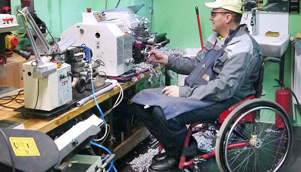 На Кіровоградщині сприяють працевлаштуванню людей з інвалідністю