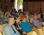 У Бердянську було організовано відпочинок для людей з особливими потребами. бердянськ, відпочинок, оздоровлення, особливими потребами, інвалід, person, clothing, group, indoor, people, woman, man, human face, room, crowd. A group of people sitting in front of a crowd
