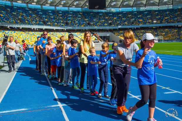 Пресс-релиз: 60 детей с аутизмом проекта Kids Autism Games будут заниматься спортом. киев, нск «олимпийский», аутизм, проект kids autism games, тренировка