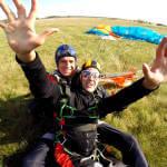 Світлина. Українка на візку представила свою країну на Міжнародному змаганні зі стрибків з парашутом серед людей з інвалідністю. Спорт, інвалідність, змагання, парашут, Білорусь, Софія Грубова
