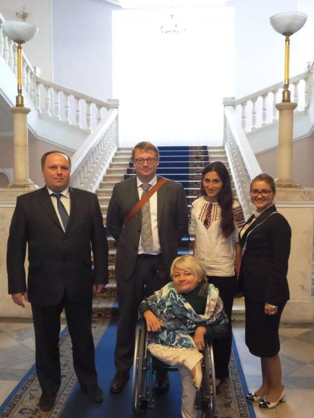 Відбулась зустріч Урядового уповноваженого з прав осіб з інвалідністю з представниками Проекту Twinning. проект twinning, зустріч, раннє втручання, реабілітація, інвалідність