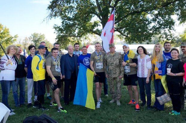 Українські військові вибороли 10 медалей на Марафоні морської піхоти США. марафон морської піхоти сша, воїн, військовий, забіг, поранення