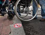 На Вінниччині розроблено регіональний план заходів по забезпеченню доступності. вінниччина, доступність, порушення зору, регіональний план, інвалідність, ground, outdoor, wheel, person, tire, bicycle wheel, land vehicle, bicycle, bike, vehicle. A bicycle parked on a sidewalk