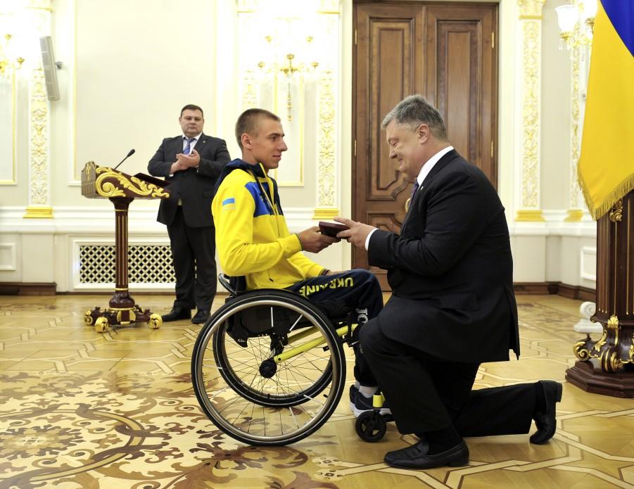 Президент нагородив членів української збірної – призерів «Ігор Нескорених»