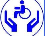 Центри безоплатної правової допомоги в Україні стають доступнішими для людей з інвалідністю. доступність, правова допомога, співпраця, інвалід, інвалідність, clipart, abstract, logo, circle, trademark, font, graphics, design, electric blue. A drawing of a face