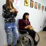 Світлина. В Славянске прошёл первый городской фестиваль для людей с ограниченными возможностями. Новини, инвалидность, фестиваль, инклюзия, Славянск, толерантность