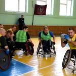 Світлина. У Житомирі відбувся відкритий турнір Житомирської області з регбі на візках. Спорт, змагання, інвалідний візок, Житомир, візочник, регбі
