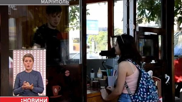 Ветеран з Маріуполя, що отримав інвалідність, відкрив свою міні-кав'ярню (ВІДЕО)