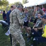 Світлина. Українські військові вибороли 10 медалей на Марафоні морської піхоти США. Спорт, поранення, військовий, воїн, Марафон морської піхоти США, забіг