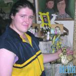 Найсильніша жінка України не чує і погано бачить