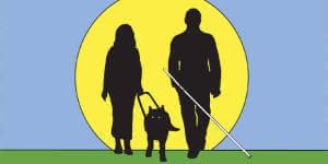 15 жовтня – Міжнародний день білої тростини. міжнародний день білої тростини, незрячий, обмеженими фізичними можливостями, сліпий, інтеграція