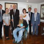 Посол України в Японії зустрівся з українським громадським діячем М. Подрезаном та його дружиною Н.Грязновою