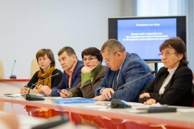 Директор Тернопільського ОЦЗ Василь Олещук доповів про сприяння служби зайнятості у працевлаштуванні осіб з інвалідністю. тернопільщина, круглий стіл, працевлаштування, центр зайнятості, інвалідність