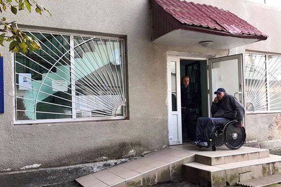 Розпочато моніторинг доступу осіб з інвалідністю до приміщень підрозділів прикарпатської поліції (ФОТО)