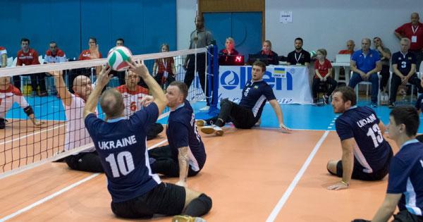 Українські паралімпійські збірні команди з волейболу сидячи — віце-чемпіони Європи