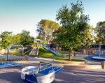 Как украинка создала в США парк для детей с особыми потребностями. алена стецив-виллареаль, сша, инвалидность, особыми потребностями, парк, tree, sky, playground, outdoor, park
