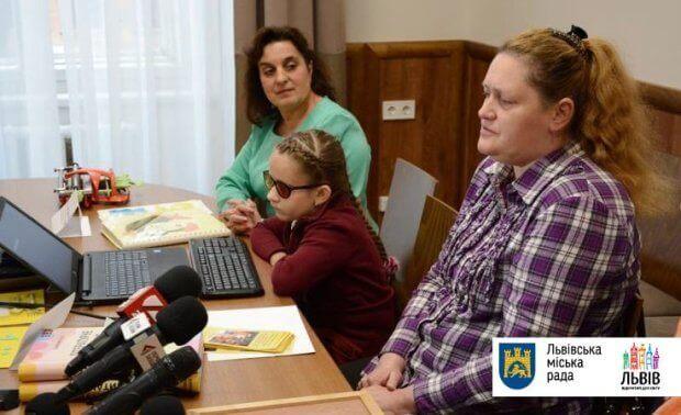 Тепер незрячі львів'яни можуть навчатися у загальноосвітній школі. львів, незрячий, порушення зору, інвалідність, інклюзивна освіта