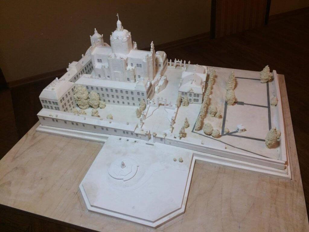 На площі Святого Юра у Львові з'явиться міні-собор для незрячих. львів, святоюрський комплекс, вади зору, міні-макет, незрячий, indoor, birthday cake, wedding cake, candle