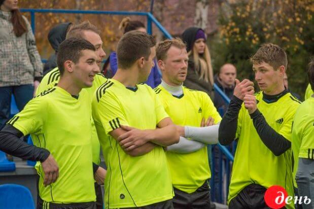 У Полтаві відбирали футболістів до дефлімпійської збірної України. полтава, вади слуху, дефлімпійська збірна, футболіст, інвалід