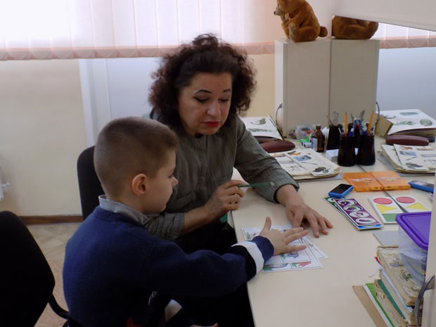 Відкритий показ заняття у відділенні реабілітації дітей-інвалідів