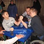 На Житомирщині відбувся чемпіонат області з армспорту серед осіб з інвалідністю