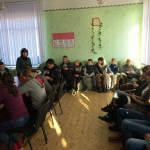 Світлина. У Знам'янці школярі з особливими потребами малювали світ професій. Робота, інвалід, центр зайнятості, Знам'янка, школа-інтернат, профорієнтаційний захід