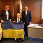 Сергій Бубка разом з автором і виконавцем соціального проекту навколосвітньої олімпійської подорожі зустрілись з головним олімпійцем світу