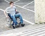 Інклюзія як формат життєдіяльності суспільства. особливими освітніми потребами, суспільство, інвалідність, інклюзивна освіта, інклюзія, outdoor, road, footwear, ground, clothing, person, man, street. A man riding on the back of a bicycle