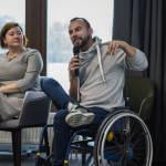Світлина. В Україні стартував рух за перетворення людей з інвалідністю з невидимок на реальних співробітників. Робота, інвалідність, працевлаштування, роботодавець, інклюзивне суспільство, рух ТАК МАЄ БУТИ