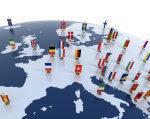 Трудові майстерні Європи. працівник, робоче місце, співробітник, трудова майстерня, інвалідність, sky, map, LEGO, cartoon, screenshot, toy, design, illustration, several. A group of toy people